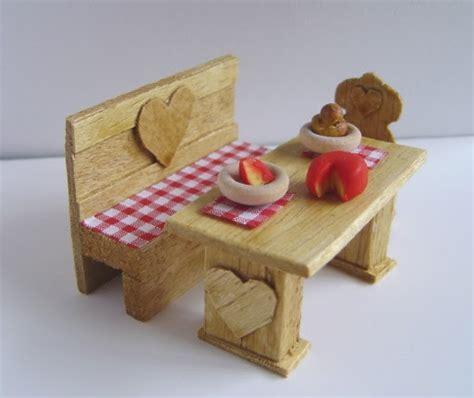 making dolls house miniatures making dolls house miniatures make a miniature bench and table free doll s house idea