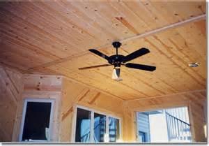 Sunroom Under Deck Deck Sunroom Knotty Pine Ceiling Finish On Multilevel