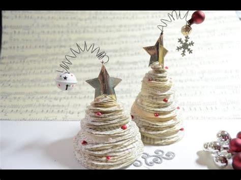 tutorial x mas tree mini weihnachtsbaum deko paperart