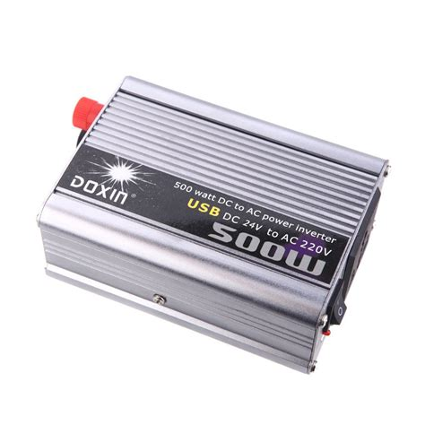Ac Portable Low Watt doxin 500w watt usb portable voltage transformer car