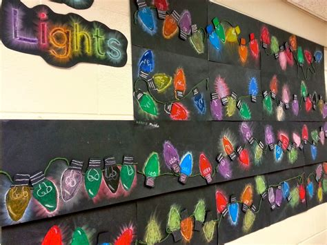 holiday value lights 4th art with mrs nguyen