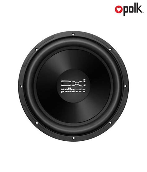 Speaker Subwoofer 12 Inch Legacy polk audio dxi124 dvc 12 inch dual voice coil subwoofer buy polk audio dxi124 dvc 12
