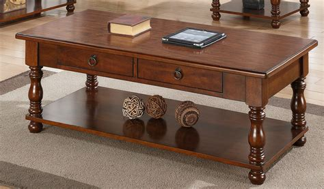 poundex f6327 brown wood coffee table a sofa
