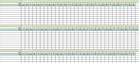 Employee Vacation Tracking Excel Template 2015 Excel Tmp Vacation Calendar Template