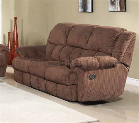 brown fabric reclining sectional reclining sofa in brown fabric w optional items