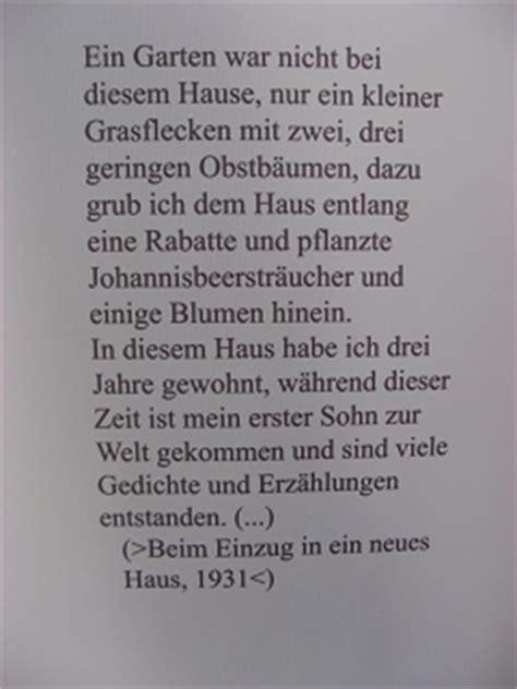 gedicht haus hermann hesse schriftsteller gartenfreund biografie