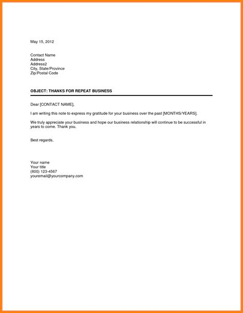 best solutions of sample business thank you letter to customer