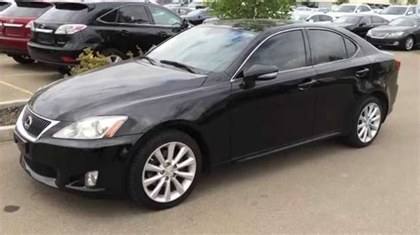 lexus cars back pre owned black 2010 lexus is 250 awd leather with