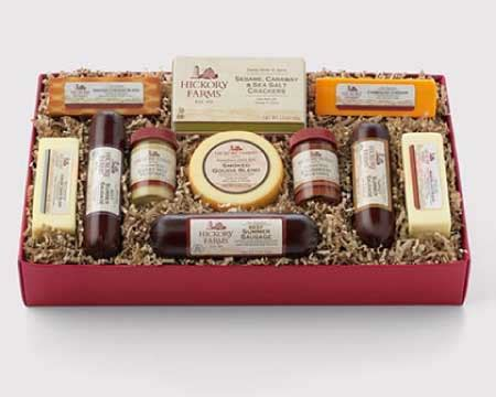 hillshire farms gift baskets for christmas review once you receive a hickory farms gift basket the holidays can officially begin