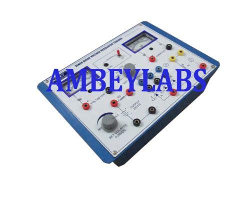 zener diode voltage regulator lab manual zener diode voltage regulator lab manual 28 images zener diode as voltage regulator trainer