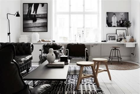 Black And White Apartment Interior Design Decoraci 243 N N 243 Rdica Low Cost