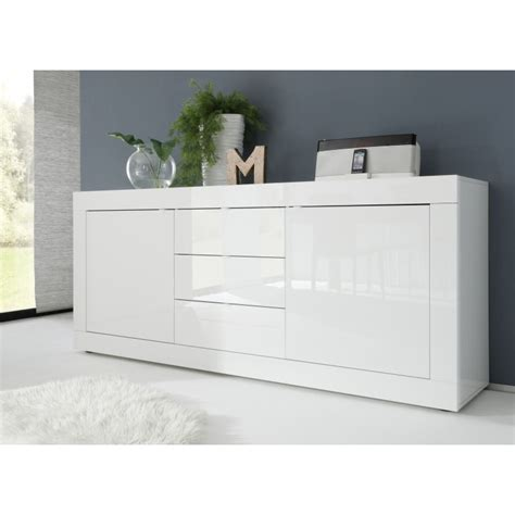 High Top Dining Room Table by Dolcevita Ii White Gloss Sideboard Sideboards Sena