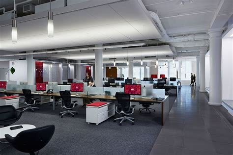 Office In Nyc Inside Infor S Ultra Modern Headquarters In New York City