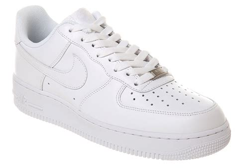 Nike Air White nike air 1 trainers in white for save 5 lyst