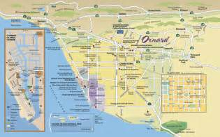 map of oxnard find your way around oxnard and ventura county