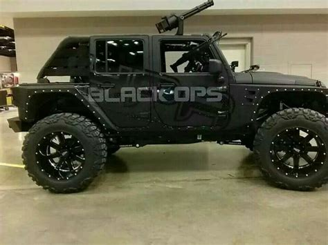 tactical jeep hpr black ops jeep wrangler custom tactical vehicles