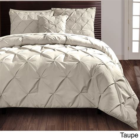 carmen 4 piece comforter set carmen 4 piece comforter set king size in taupe as is