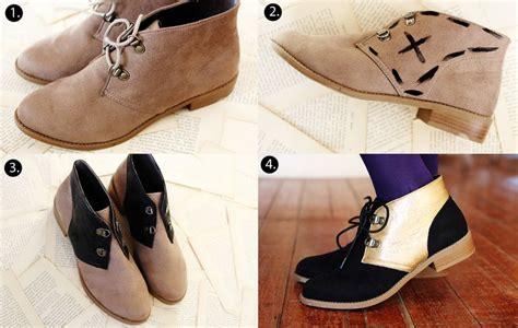 shoe diy color blocked shoe d i y a beautiful mess
