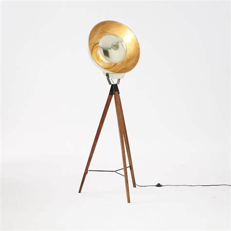 studio tripod floor lamp west elm