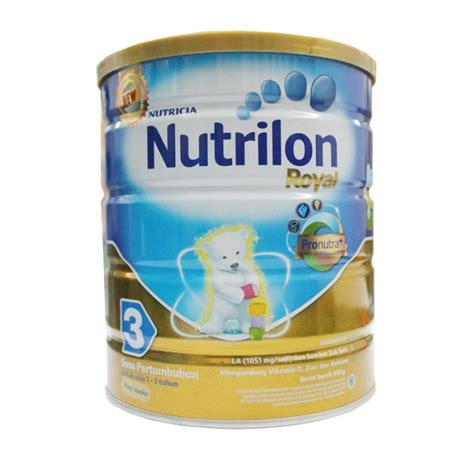 Nutrilon Royal 3 400 Gr jual nutrilon royal 3 vanilla 800 g prosehat