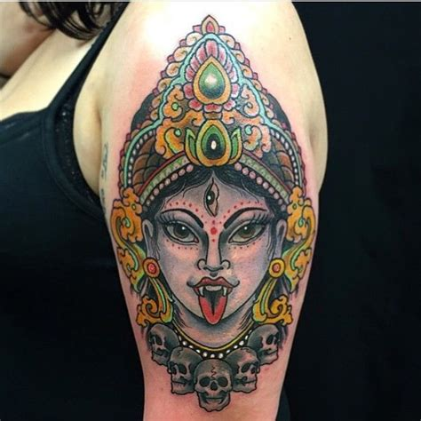 kali tattoo 25 beautiful hindu tattoos ideas on ganesha