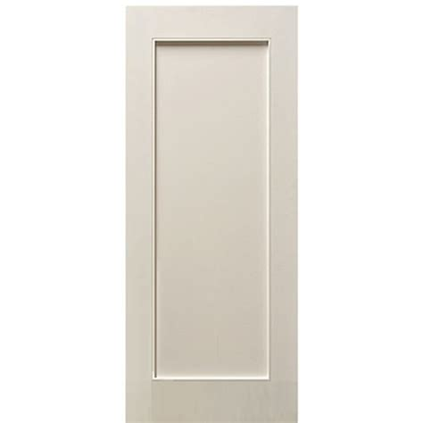 Shaker Style Interior Doors Escon Doors Mp6001wp 1 Panel Primed White Shaker Style Interior Door At Doors4home