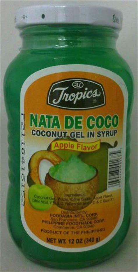 desain kemasan nata de coco tropics nata de coco apple 12oz tropics bottled nata