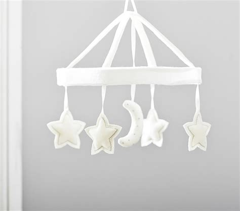 Pottery Barn Crib Mobile by Clouds Sun And Moon Celestial Nursery Motifs