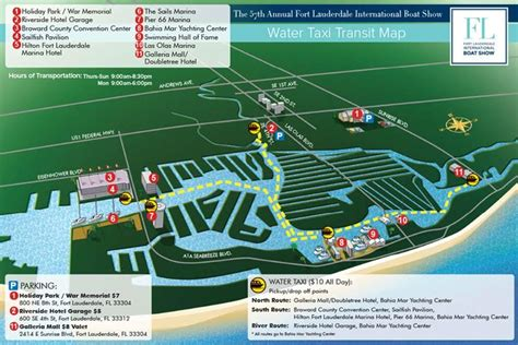 fort lauderdale boat show on the water map of fort lauderdale us 1 cdoovision