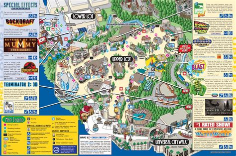universal map visit to universal studios thinglink