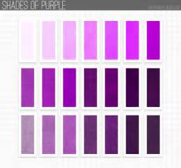 different shades of purple names 8 best images of shades of purple names chart red