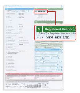 car new registration dates where to find your v5c registered vehicle keeper