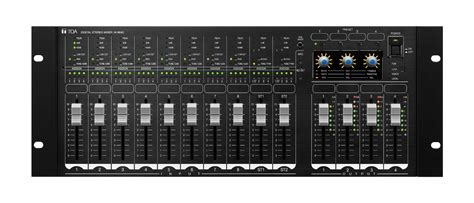 Mixer Audio Toa m 864d ce toa corporation
