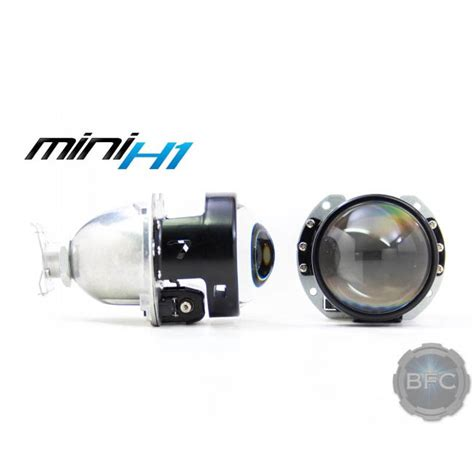 Lu Hid Projector Mini morimoto mh1 bi xenon hid projectors blackflamecustoms