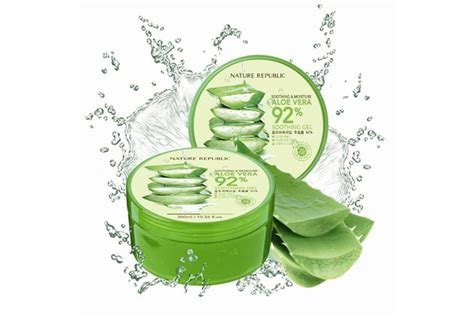 Nature Repulic Smoothing Gel 92 17 changing korean skin care product that will change