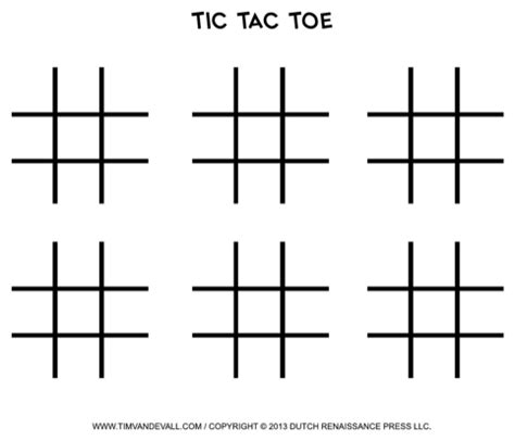 Download Tic Tac Toe Template For Free Formtemplate Free Tic Tac Toe Template