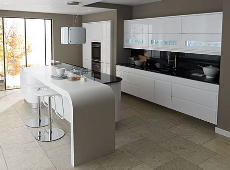 Almond Kitchen Cabinets by Contemporary Kitchens From Eaton Kitchen Designs