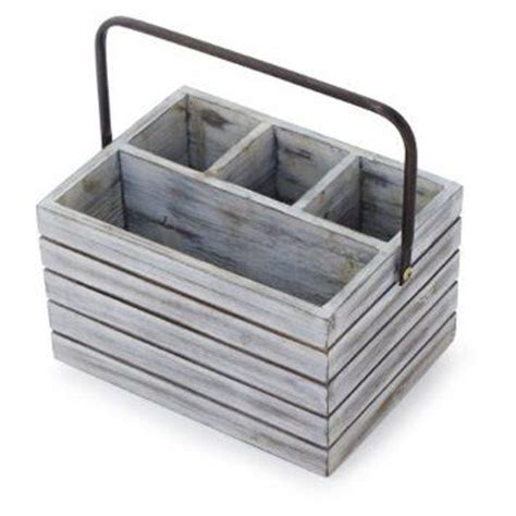 Dining Table Caddy Rustic Wooden Condiment Holders Search Pinterest