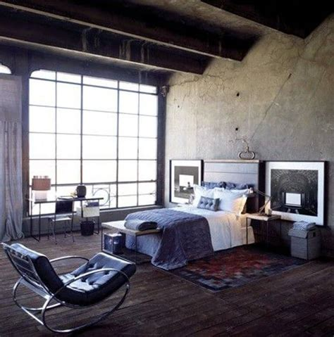 industrial interiors 11 bold bedroom designs with bare concrete walls https