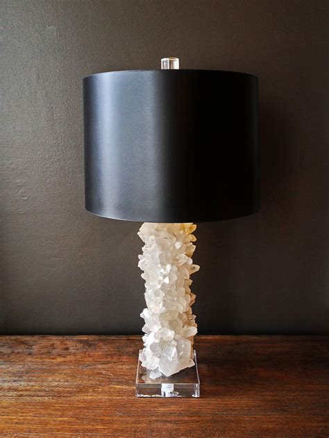 Brass Dining Table Base quartz crystal table lamp mecox gardens