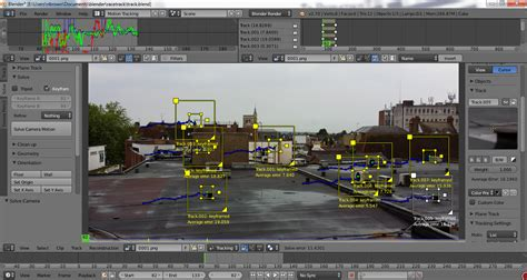 blender tutorial tracking camera tracking why does the solve error keep changing