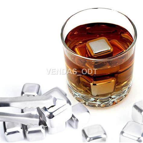 inox geländer cubos de gelo em a 231 o inox gela whisky vinho cerveja 225 gua
