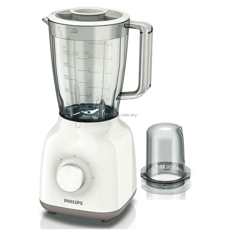 Blender Merk Philips philips blender 400w 1 5 l with mill hr2108