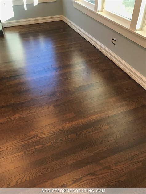 hardwood floors my newly refinished oak hardwood floors addicted 2 decorating 174