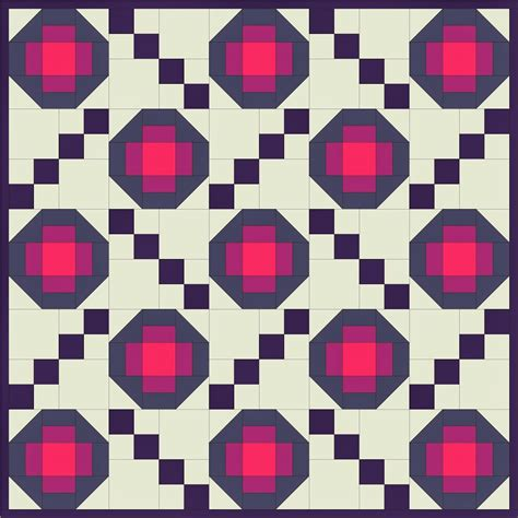 free quilt pattern friday pansy a crispy