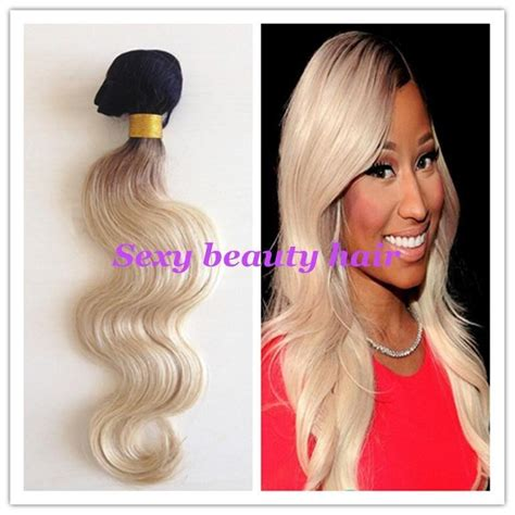 creating roots on blonde hair double weft ombre hair extensions quality hair accessories