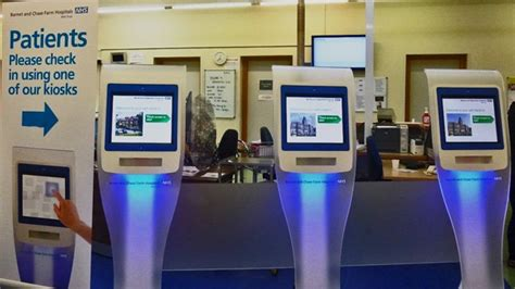 emergency room check in self serving kiosks future health systems