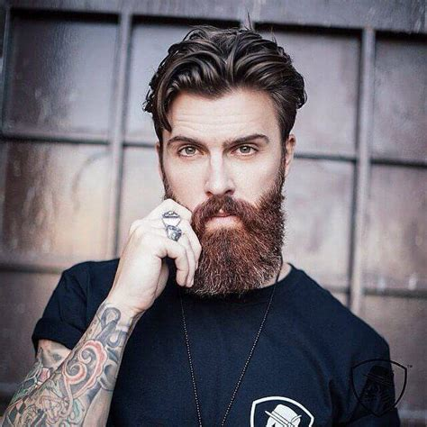 Best Hair Styles To Compliment A Beard | hairstyles with beards 20 best haircuts that go with beard