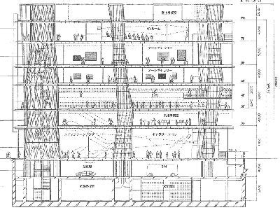Floor Plan Architecture Gallery Of Ad Classics Sendai Mediatheque Toyo Ito