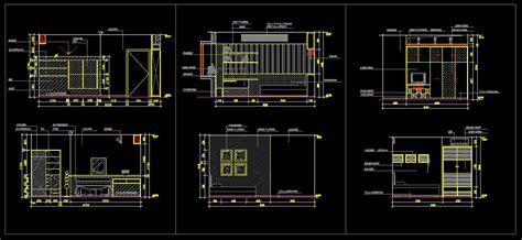 autocad room design children s room design template cad library autocad